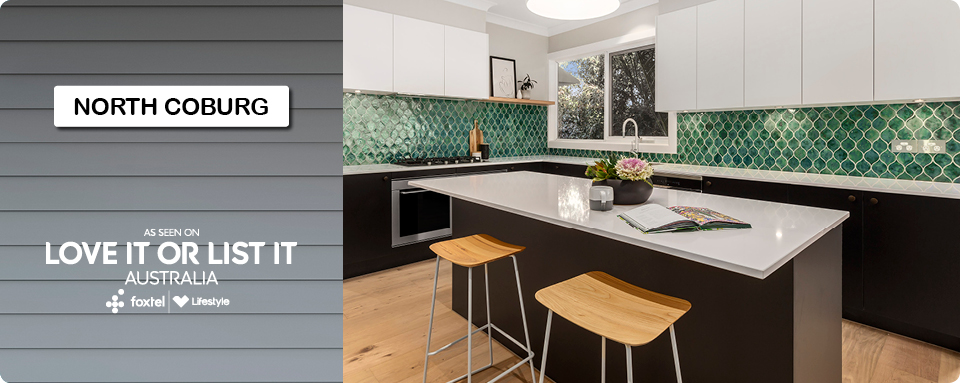 Wholesale Kitchens Love it or list It North Coburg reveal