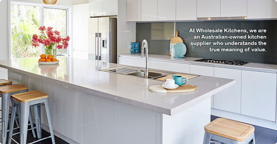 Wholesale Kitchens proud supplier of kitchens and laundries for Love it or List it.